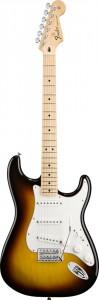 Dünyanın belki de en ünlü gitar riff'i Smoke On The Water introsu bir Fender Stratocaster'la çalınmıştır.