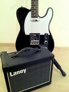 Jay Turser JT-LT ve Laney LG12