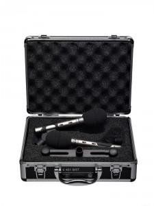 AKG C451B Matched Pair (küçük diyaframlı condenser): Stereo akustik gitar kayıtlarında, koro veya davul kayıtlarının tepe mikrofonları için endüstri standardı haline gelmiş bir başka condenser mikrofon. Eşlenmiş bir çift olarak ya da tek olarak satışa sunuluyor. Daha ekonomik bir alternatif için MXL603S düşünebilirsiniz.