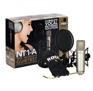 RODE NT1-A (geniş diyaframlı condenser): Düşük bütçeli proje ya da ev stüdyolarında sıklıkla kullanılan, fiyatına göre iyi ses veren bu mikrofon en çok satanlar arasında. Kutudan çıkan şok koruyucu ve pop filtre ile bu ürün, 'tadından yenmiyor' kategorisinde yer alıyor. Alternatifleri: Studio Projects B1, MXL990