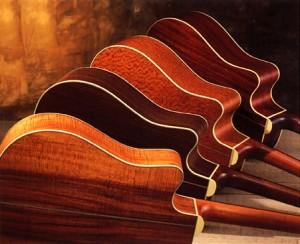 Akustik gitarın tonuna etki eden en önemli faktörlerden biri de kullanılan ağaç cinsi, şüphesiz