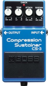 Pedal formundaki kompresörlerdeki parametreler biraz daha farklıdır. Level genel bir volüm seviyesi kontrolü iken, Ton kontrolü sesin parlaklığını veya matlığını belirleyen bir ekolayzır ayarı gibi çalışır. Attack kompresörün devreye girme süresini Sustain ile Make-up Gain gibi çalışır.