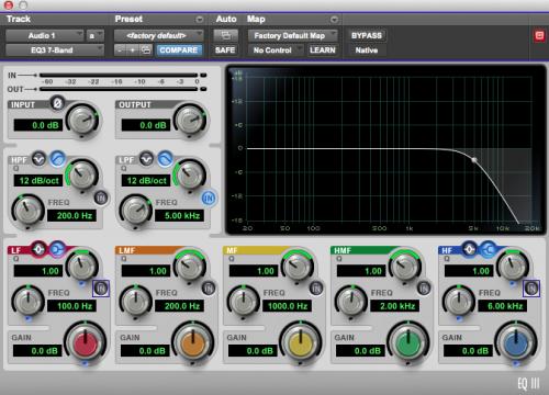 Low Pass Filter (HPF): Burada ise 5 kHz'in altını kesiyoruz. Bu frekansın altında kalan tüm frekanslar geçer üstündekiler kesilir.